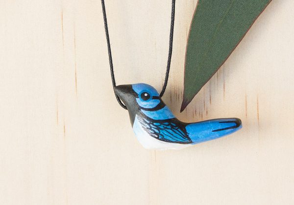 Songbird - Superb Fairy Wren Necklace