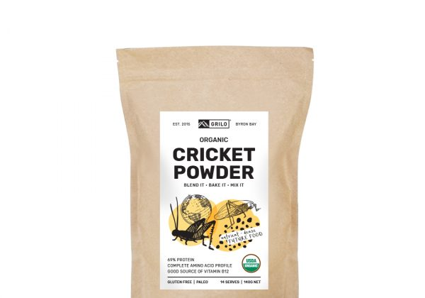 Organic Cricket Powder