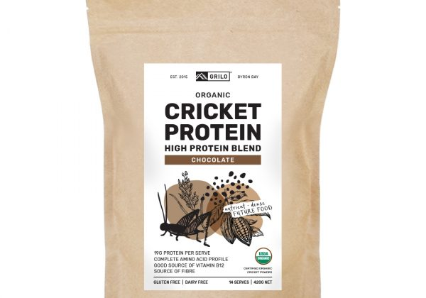 organic cricket protein powder