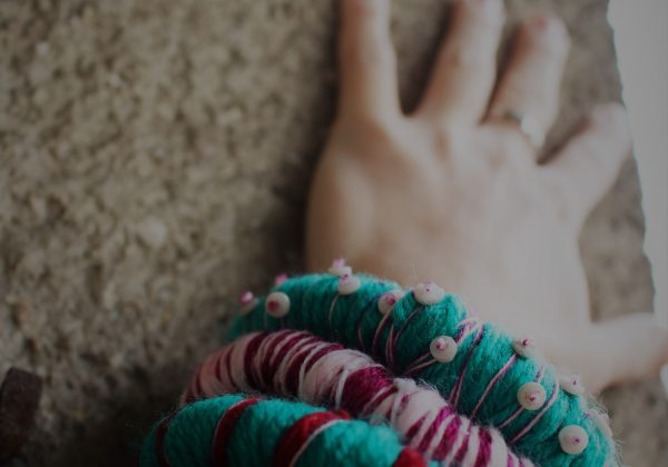 turquoise, pink bracelet threesome