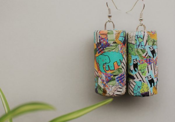 Urban Animalia Cork Earrings