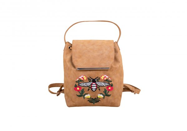 Floral Beetle Mini Backpack